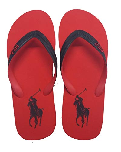 Ralph Lauren - WHITTLEBURY Mann rote Flip Flops 816787977007 - Rot, 42 EU All Brands