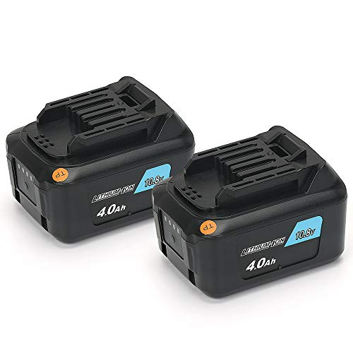 【POWERGIANT】2個セット マキタ BL1040B BL1040 BL1015互換バッテリー 10.8V 4.0Ah リチウムイオン電池パック 一年保証付き!