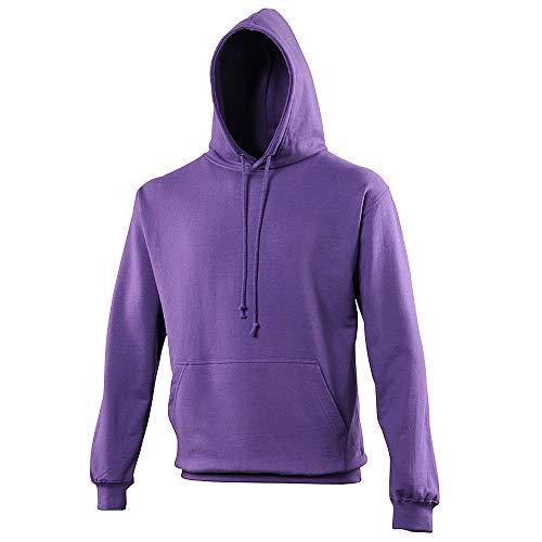 Sweat à Capuche AWDis College - Sweat-Shirt Unisexe - Violet (S)