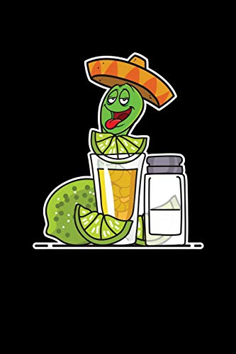 Tequila Worm: Journal, College Ruled Lined Paper, 120 Pages, 6 X 9