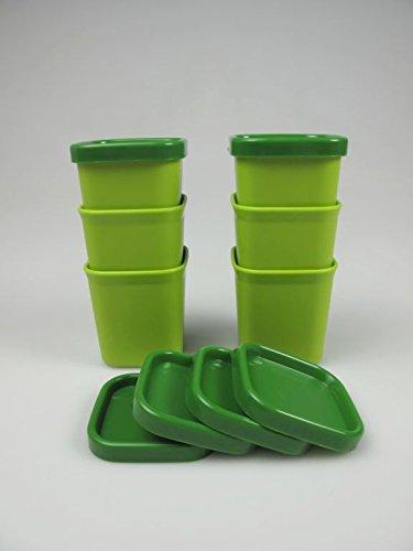 TUPPERWARE Flanero Microvapor 101° de 80 ml verde (6)