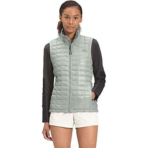 The North Face Women's ThermoBall Eco Vest, Wrought Iron Surreal Sky Print, XL
