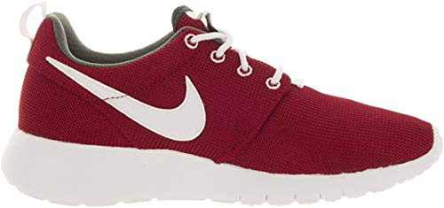 Nike Roshe One (gs), Unisex-Kinder Hallenschuhe, Mehrfarbig (Gym Red / White-Dark Grey), 35 EU