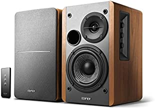 Edifier R1280T Powered Bookshelf Speakers, 2.0 Active Monitor System (Renewed)