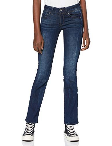 G-STAR RAW Damen Jeans Midge Saddle Mid Waist Bootcut, Blau (Dk Aged 6553-89), 28W / 30L