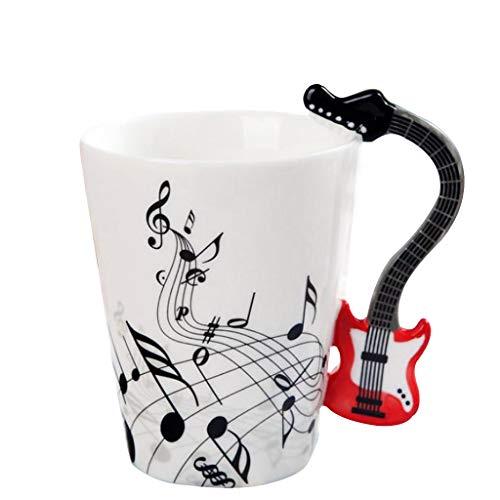 joyMerit Tazas de Cafe en Ceramica Taza Musical de Estilo Europeo Resistente...