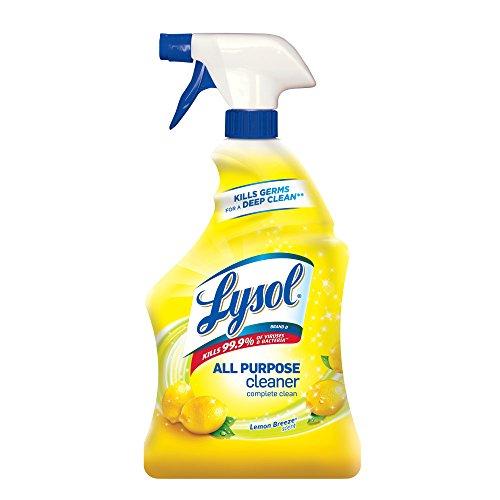 Lysol All Purpose Cleaner Spray, Lemon Breeze, 32oz