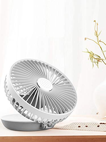 JIYANA Foldable Desktop Aromatic Rechargeable mini 6 Inch Small Fan Table for Home Kitchen - Multicolor