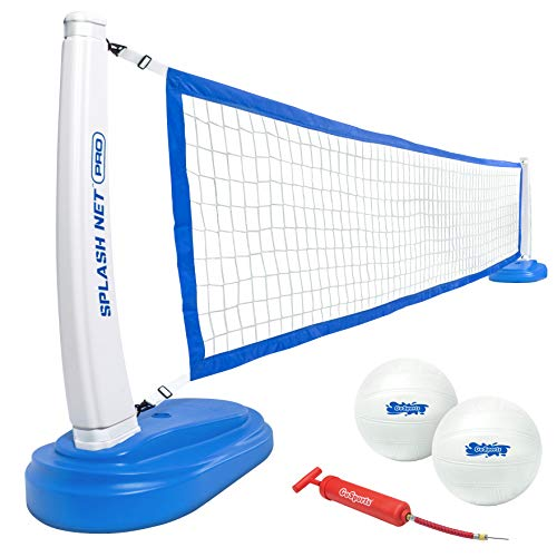 GoSports Splash Net PRO Pool Volleyball Net Includes 2 Water