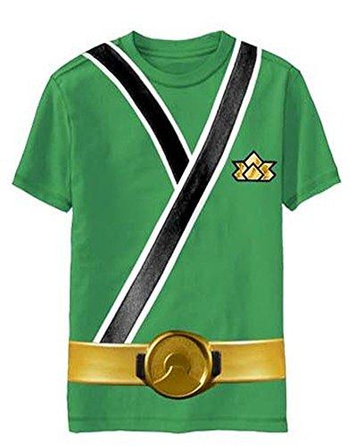 De alimentación de corriente Rangers Samurai Ranger infantil con diseño de T-Shirt...