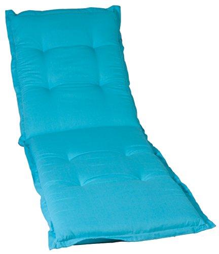 Beo Hellblaue Polsterauflage Auflage Kissen für Liegen hochwertig