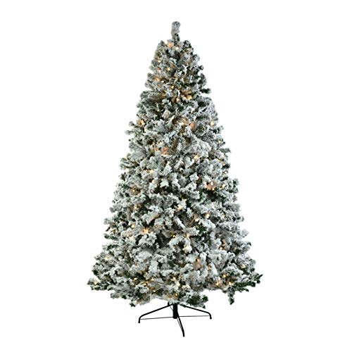 X-LSWAB 7.5ft Premium Spruce Hinged Artificial Christmas Tree W/Easy Assembly Foldable Stand Decoration With Stand No Tools Requirement Best Holiday Decor For Christmas (Color : A)