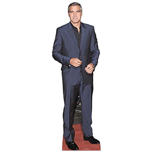 Star Cutouts-Pappaufsteller von George Clooney