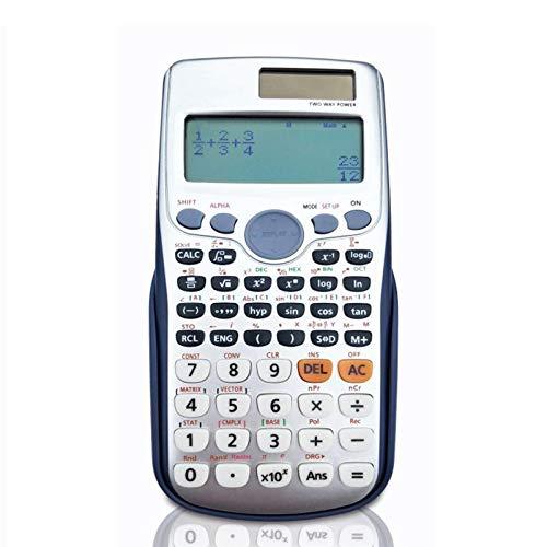 AOUVIK Wissenschaftlicher Taschenrechner, Schriftlicher Solar-Taschenrechner Für Schulen Und Universitäten