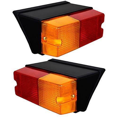 Bajato - Clignotant Arrière 2X Farmtrac Alisson Indofarm Standard Tracteur avec Ampoules - 11005003