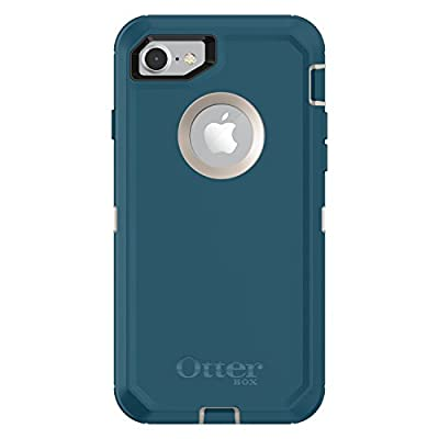 OtterBox DEFENDER SERIES Case for iPhone SE (2nd gen - 2020) and iPhone 8/7 (NOT PLUS) - Retail Packaging - BIG SUR (PALE BEIGE/CORSAIR)