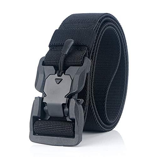 NXYJD Cinturón Relojamiento rápido Hebilla Cinturón Suave Real Nylon Accesorios Deportivos