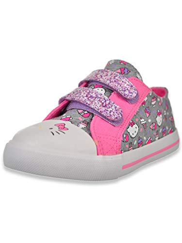 Hello Kitty Lil Frosty Girls Toddler Fashion Sneakers Grey Size 5 US