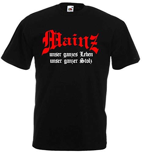 Mainz Herren T-Shirt unser Leben unser Stolz Ultras