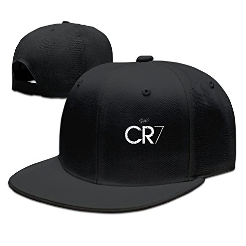 MEIKEY Cr7Baseball-Kappe, unisex, Kinder unisex, Schwarz , Einheitsgröße