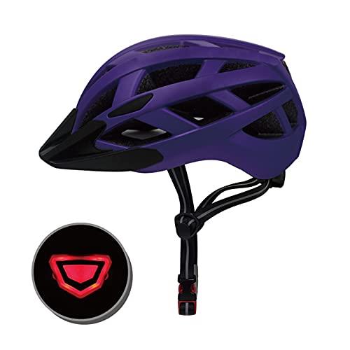Casco Bicicleta Adulto Casco Bici 23 ventilaciones Cascos de Bicicleta de Ciclismo Ajustables Ligeros Hombres y Mujeres para Skateboard Mountain Road Bike