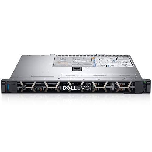 Dell PowerEdge R340 Rack Server Silber Intel Xeon E 2144G 32GB RAM 2x 1TB SATA Dell 3 YR WTY EuroPC Garantie Assist Renewed
