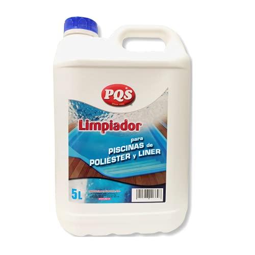 Fer PQS-Limpiador para Piscinas de Poliéster y Liner 5 litros