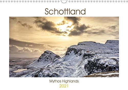 Schottland - Mythos Highlands (Wandkalender 2021 DIN A3 quer)