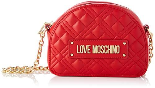 Love Moschino Damen Precollezione ss40 Umhängetasche, rot, Normal