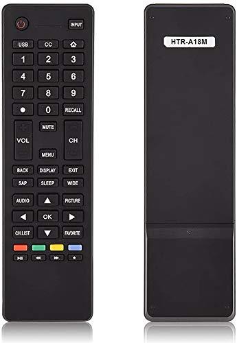 Remote Control HTR-A18M fit for Haier LCD LED TV LE58F3281 32D3000 LE32M600M20 LE32F32200 LE24M600M80 65d3550 LE39M600M80 40D3500M 48D3500 LE48M600M80 LE50M600M80 55D3550