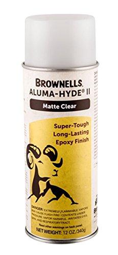 Brownells Aluma-Hyde II Epoxy Based Firearms Finish (Matte Clear)