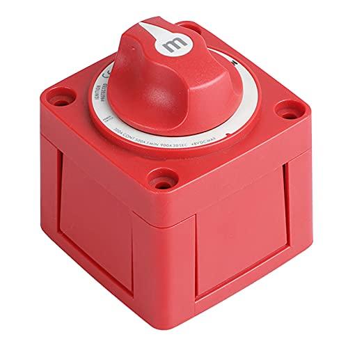 IPOTCH Mini Selector marino 4 posiciones interruptor de batería Serie M encendido/apagado, número de pieza 6006, Material duradero