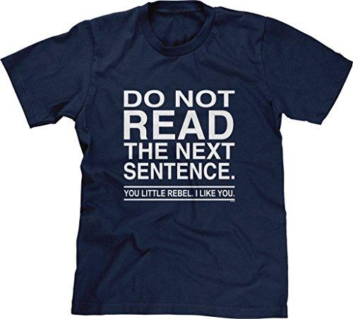 Agassi–Camiseta de Manga Corta para Hombre no Leer la Siguiente Frase You Rebel con Refranes