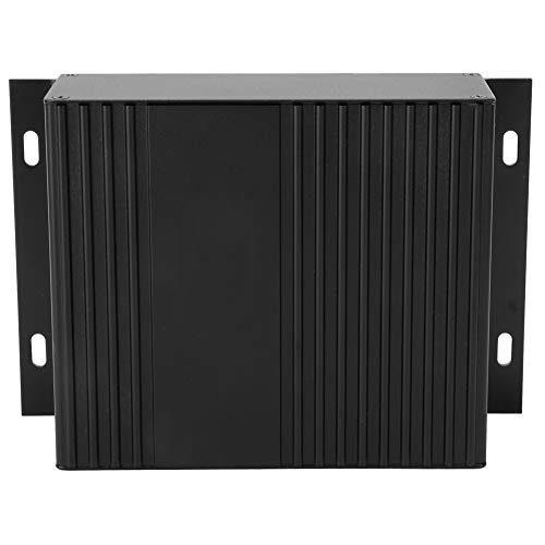 Caja de aluminio, caja de aluminio del controlador, 41X147X100Mm Disipación de calor rápida para controladores integrados Productos electrónicos