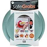 Safe Grabs: Multi-Purpose Silicone Original Microwave Mat as Seen on Shark Tank | Splatter Guard, Trivet, Hot Pad, Pot Holder, (BPA Free, Heat Resistant, Dishwasher Safe), Mist