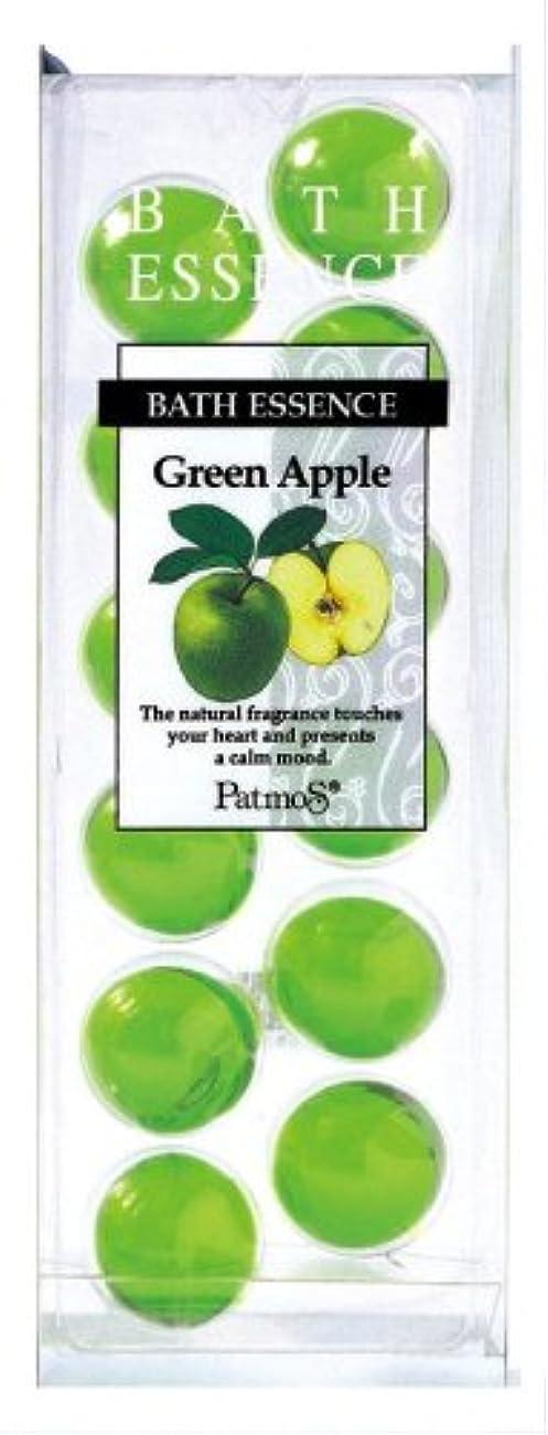 ターゲット自分を引き上げる露骨なパトモス バスエッセンス 12P グリーンアップル