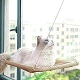 Hamaca para Gatos Hamaca para Gatos Montada En La Ventana, Cama Colgante para Mascotas con Ventosas Resistentes Que Ahorran Espacio Y Cama De Seguridad Montada para Gatos para Perchas