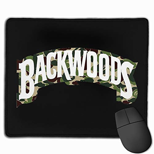 Camouflage Backwoods Mouse Pad Gaming Mouse Pad Non-Slip 11.8 X 9.8 Inches Mouse Mat for for Office Computer Gaming Home