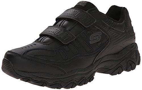 Skechers Men's After Burn Memory Fit - Final Cut Sneaker, Black, 11.5 M US