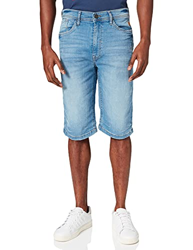 Blend 20711772 Pantalones Cortos de Jean, 200290_Denim Light Blue, L para Hombre