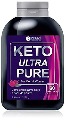 Formule Keto Ultra Pure Booster d'énergie - Aide à la perte de poids - Ingrédients 100% Naturels