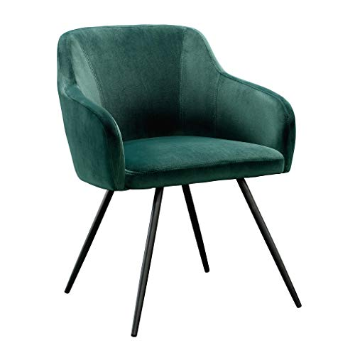 Sauder Harvey Park Occasional Chair, Emerald Green finish