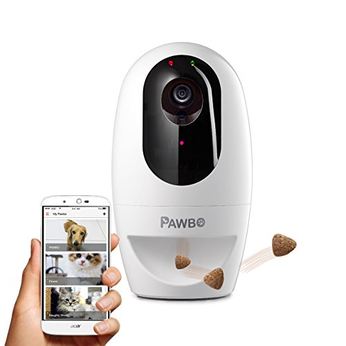 Pawbo Life Pet Camera: WiFi HD Video with 2-Way Audio, Treat...