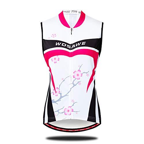 Sunbike Frauen Radfahren ärmellose Jersey Bike Shirts Weste