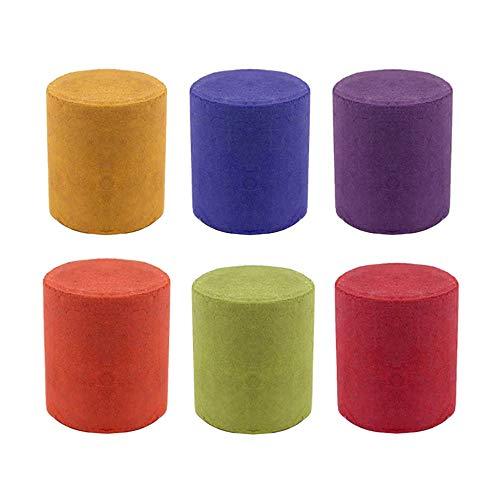 Bayda Humo Pastel Humo Efecto Colorido Fotografía Apoyos Juguete 6 PC 6 Colores