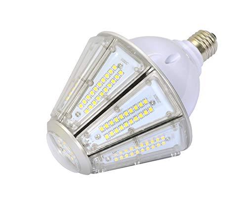 50W Led Garage Corn Light Bulb,Medium Base E26 Light Bulb 5000k Daylight Conical Led Bulbs,IP65 Water-Proof Working Lamp Street and Area Light Replacement 300w Metal Halide/CFL