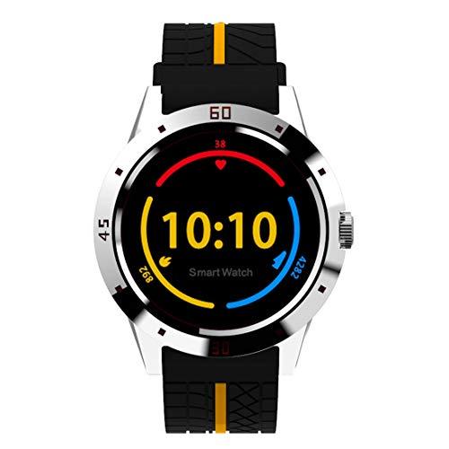 SmartWatch JRC N6 Smart Watch 1.3 pulgadas Pantalla TFT MTK2502C Bluetooth4.0, correa de reloj de silicona, soporte Monitor de ritmo cardíaco y monitor de Sleep & Sleep y RECORDATORIO DE SEDENDARIO (R