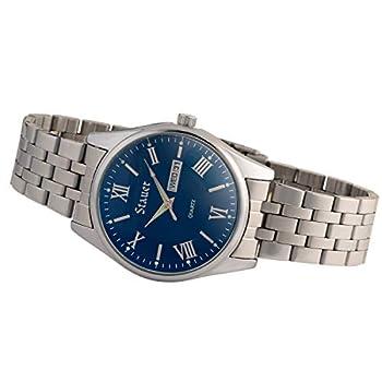 Stauer Men s Midnight Stainless Steel Watch