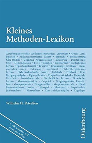 Wissenschaft Ehrenwirth: Kleines Methoden-Lexikon