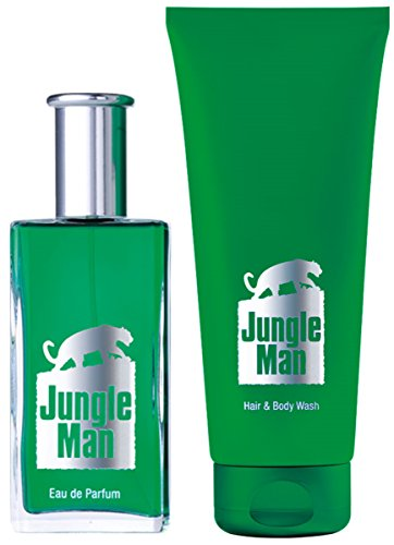 1a LR Parfum-Set 3600 JUNGLE MAN --- Eau de Parfum EdP + Haar & Körper Shampoo --- 50ml + 200ml